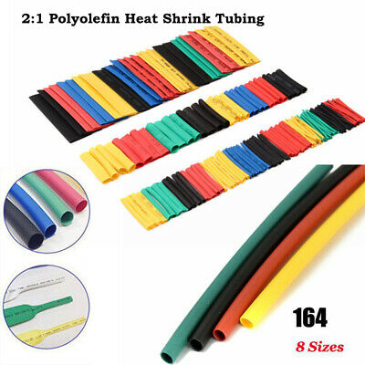 Heat Shrink Tubing  Wire Connect Electrical Cable Tube kits Sleeve Wrap