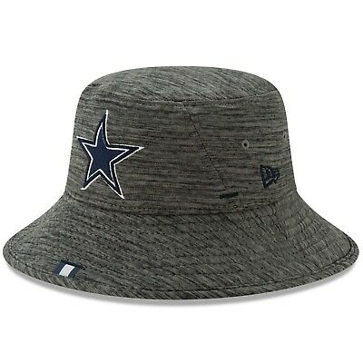 a44c1e39d Dallas Cowboys New Era 2019 NFL Training Camp Bucket Hat – Graphite