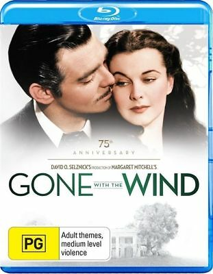 Gone With The Wind (Blu-ray, 2014) 75th Anniversary Edition BRAND NEW REGION B