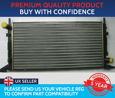 RADIATOR TO FIT FORD ESCORT MK4 1985 TO 1990 1.4 1.6 1.6 XR3i FORD ORION MK2