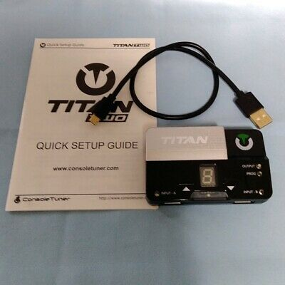 TITAN ONE CONSOLETUNER Gaming Adapter For PS4 PS3 Xbox One