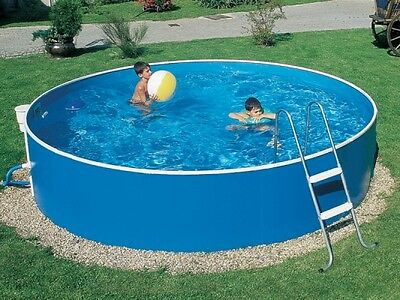 12ft swimming pool steel pool splasher