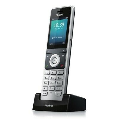 Yealink W56H Cordless DECT IP Phone Handset for W60P IP-DECT Phone