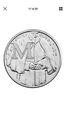 2018 10p Coin M - Mackintosh Great British Coin Hunt Letter M.... Free Postage