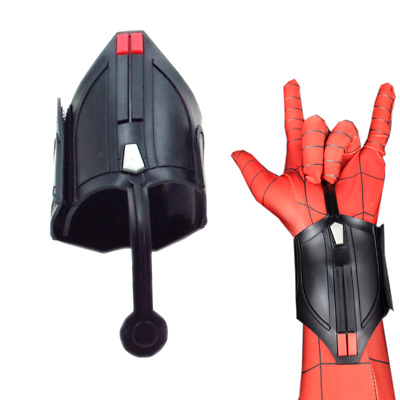 Spiderman Homecoming Peter Parker Web Shooter Wrist Guard Cosplay Costume Props
