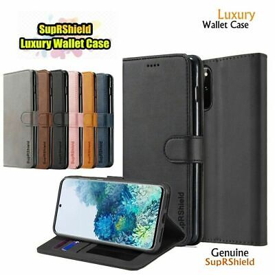 Samsung Galaxy Note 8 9 S8 S9 S10 5G Plus S10E Wallet Case Leather Flip Cover