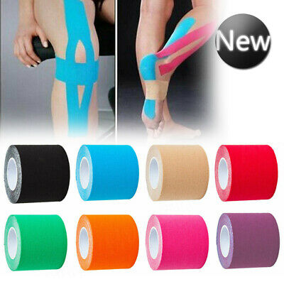 5m Kinesiology Sports Tape Elastic Physio Muscle Tape PRO Pain Relief Support KT