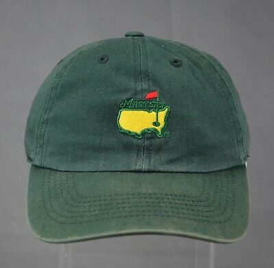 Official Masters Augusta National Golf Fitted Hat American Needle Green