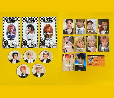 NCT DREAM The First We Go Up We Boom Official Album Photocard Scratch Card CC