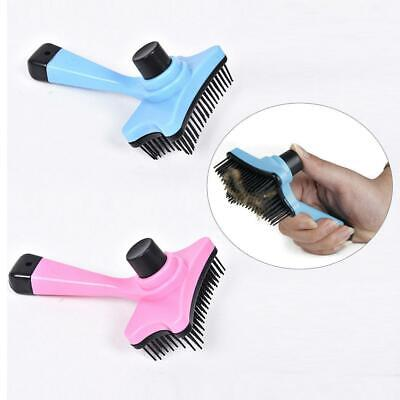 Pet Comb Brush Dog Cat Hair Self Cleaning Slicker Brush Grooming Shedding WST 01