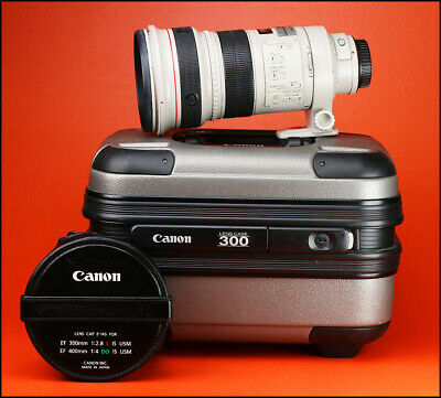Canon EF 300mm F2.8 L Telephoto Pro IS USM Lens Canon With 300 Pro Hard Case