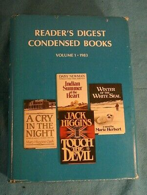Readers Digest Condensed Books - 1983 Volume 1