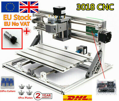 【EU┇UK】 CNC 3018 DIY Router Kit Engraving Milling Laser Machine Wood PCB Cutting