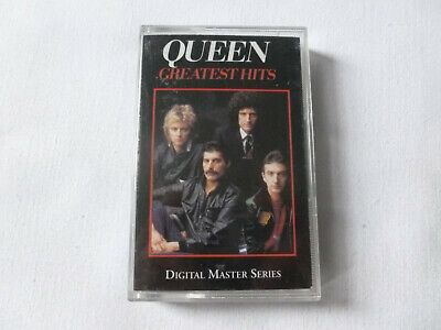 Queen ~ Greatest Hits ~ 1994 Remastered 'Best Of' Classic Rock Cassette Tape