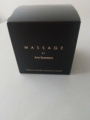 Ann Summers Massage Candle