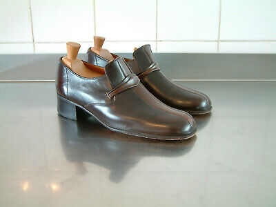 1970's SHOES..MENS..UK 7..STACK HEEL..DISCO..GLAM..70'S WEEKENDER..LIKELY LADS