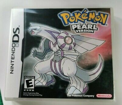 Nintendo Ds Replacement box - Case + Shimmer cover - inlay Pokémon Pearl
