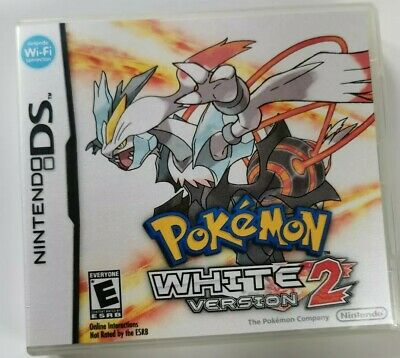 Nintendo Ds Replacement box - Case + Shimmer cover - inlay Pokémon White 2