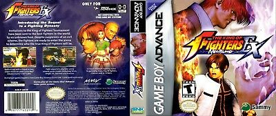 Nintendo Game Boy Advance GBA Replacement Case King of Fighters EX Neo Blood