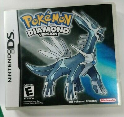 Nintendo Ds Replacement box - Case + Shimmer cover - inlay Pokémon Diamond