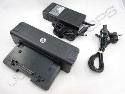 HP USB 3 0 Docking Station Port Replicator w/ AC Adapter for ZBook