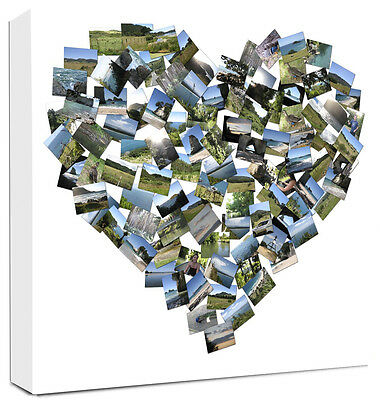 Photo Collage Canvas Personalise