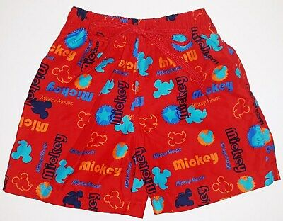 DISNEY TOPOLINO MICKEY MOUSE♥COSTUME RED BOXER MARE SUIT TRAJE♥2 anni 24 mesi