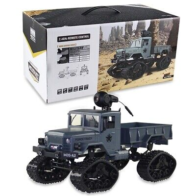 FY001B 1/16 2.4G 4WD RC Car Brushed Off-road Truck Snow Tires with Front Light