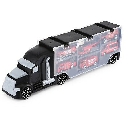 Penglebao P867 - A6 Kids Large Container Truck with 6 Vehicles