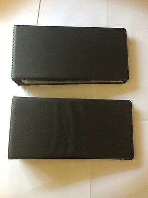2 x STANLEY GIBBONS PIONEER FIRST DAY COVER ALBUMS WITH LEAVES GOOD CONDITION.