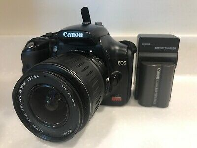 Canon EOS Digital Rebel EOS 300D Digital EF-S 18-55 Kit Black