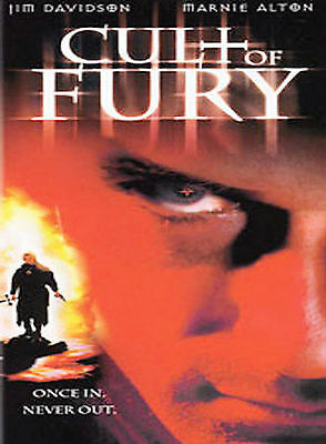 """Cult of Fury (DVD, 2002)    """"Once In, Never Out."""", Thriller Action, Cult, SEALED"""