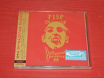 2019 JAPAN CD HOLLYWOOD VAMPIRES RISE Alice Cooper Joe Perry Johnny Depp