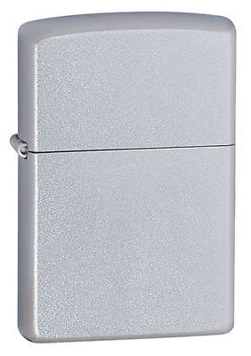 "Zippo 205,  ""Satin Chrome"" Finish Lighter, Pipe Insert (PL)"
