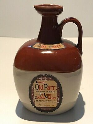 WHISKY GRAND OLD PARR DE LUXE SCOTCH WHISKY DECANTER 75cl. 43% YEARS 70