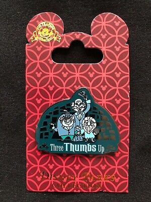 Disney Parks Pin Trading Haunted Mansion Three Thumbs Up