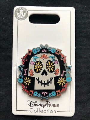 Disney Parks Pin Trading Coco Day of the Dead Skull