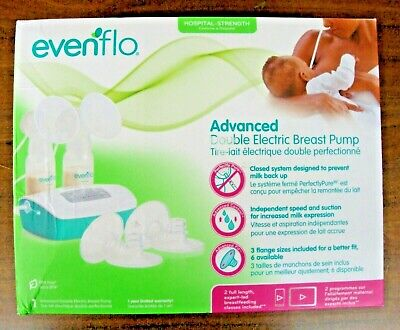 EVENFLO - ADVANCED DOUBLE ELECTRIC BREAST PUMP New In The Box Free Shipping