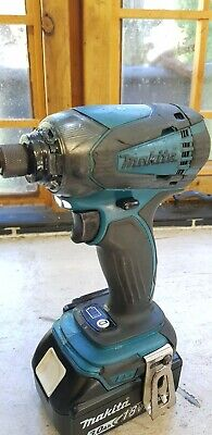 Makita 18v Impact. (Relisted due to time waster playing.)