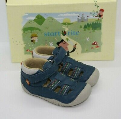 Start Rite Infant Boys Atoll Taupe Nubuck Pre Walker Shoes Various Sizes BNIB