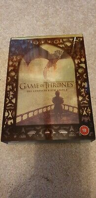 Game of Thrones: The Complete Fifth Season ex cond,