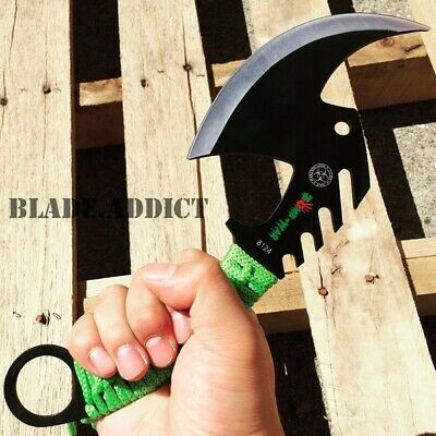 Tomahawk Tactical Throwing Axe Camping Hatchet Knife Hunting Zombie Survival-T