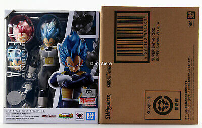 S.H. Figuarts Dragon Ball Super Broly Super Saiyan God Vegeta Figure Japan Ver