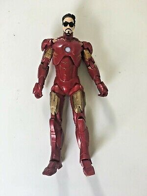 Marvel Legends Hasbro Wal-Mart Exclusive Iron Man Tony Stark Unmasked Figure (E)