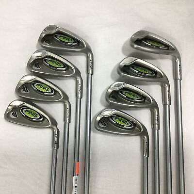 Used Right Hand Ping Rapture Irons 5-Sw Soft Flex
