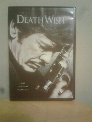 DEATH WISH Classic Action dvd Charles Bronson vgc  free shipping