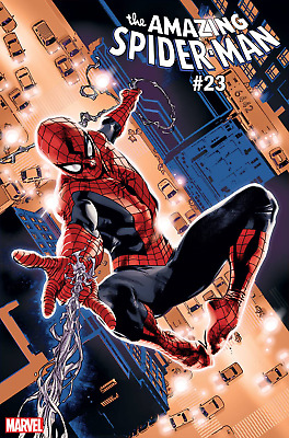 Amazing Spider-Man Vol 5 #23 Blue Red Suit Variant Cover NM Marvel Comic 2019