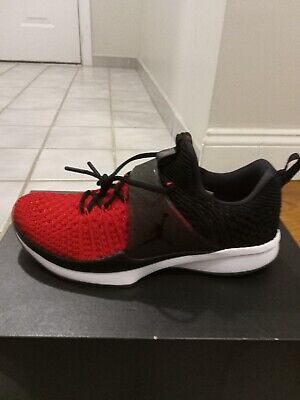 6eab426aa79 Nike 921210-601 Air Jordan Trainer 2 Flyknit Black Red Men Training Shoes  size 8