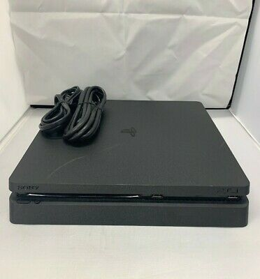 Sony Playstation 4 PS4 500GB Slim - Black Console Only
