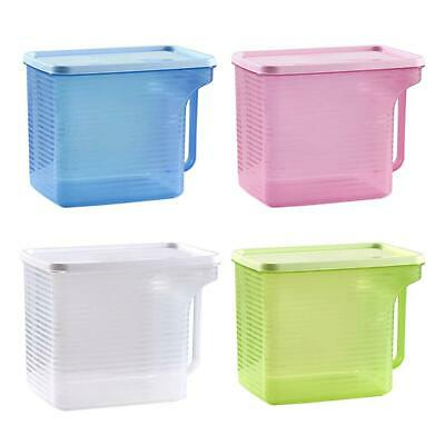 BW#A Plastic Storage Box Refrigerator Food Sealed Storage Container with Handle